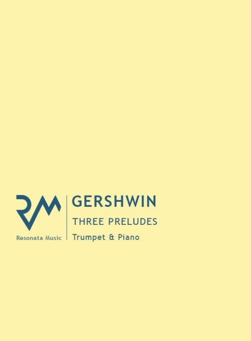 Gershwin - Three Preludes Cover