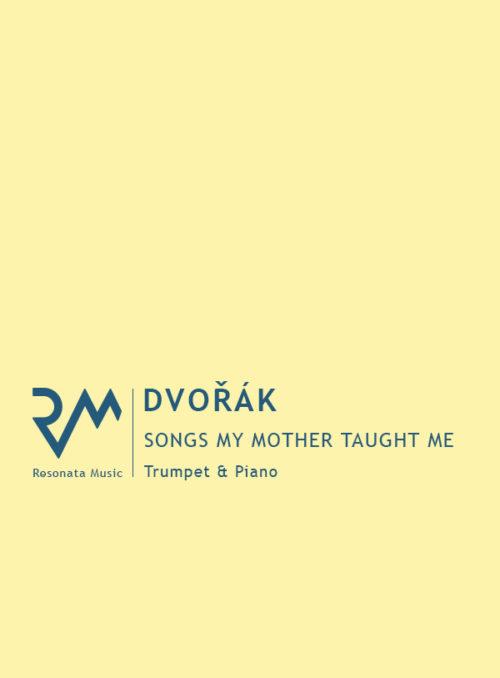Dvorak - Songs my Mother Taught main cover