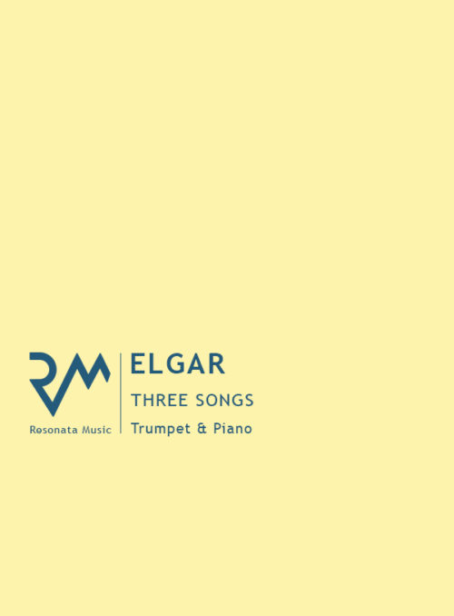 Elgar - Three Songs cover