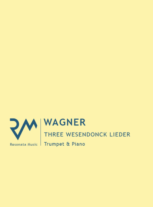 Wagner - Wesendonck Cover