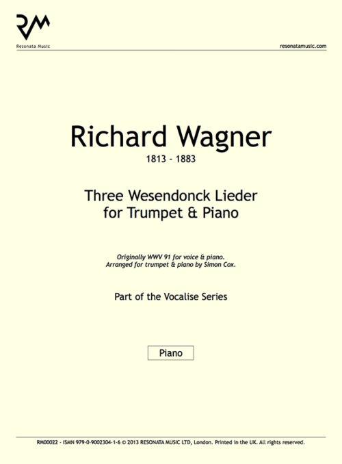 Wagner - Wesendonck Inner Cover