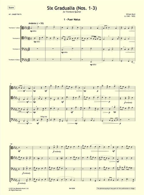 Byrd - Gradualia 1-3 first page