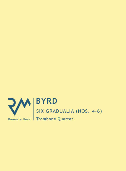 Byrd - Gradualia 4-6 cover
