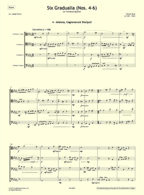 Byrd - Gradualia 4-6 first page