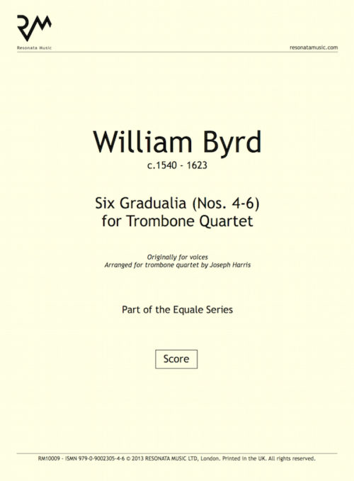 Byrd - Gradualia 4-6 inner cover