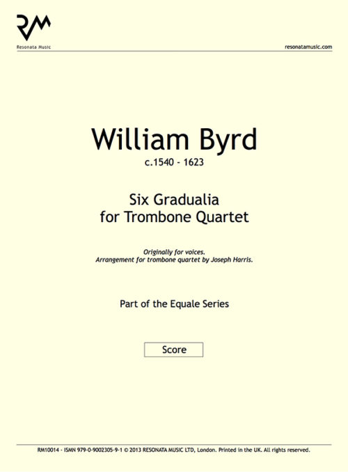 Byrd - Six Gradualia inner cover