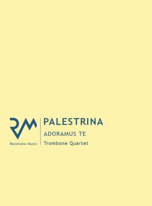 Palestrina - Adoramus Te cover