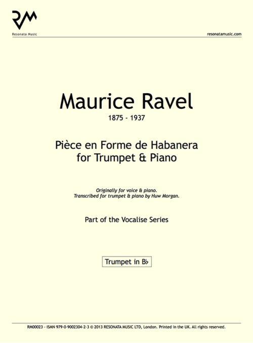 Ravel - Pièce inner cover
