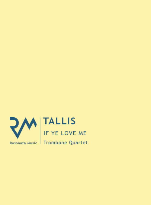 Tallis - If Ye Love Me cover