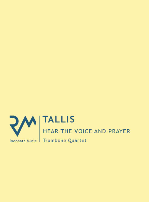 Tallis - Hear the Voice cover