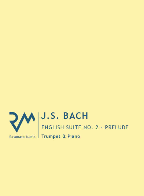 Bach - English Suite cover