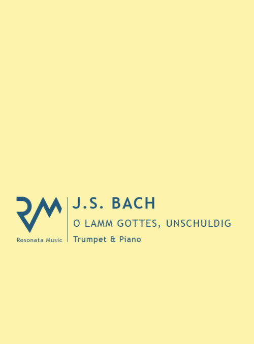 Bach - O lamm cover