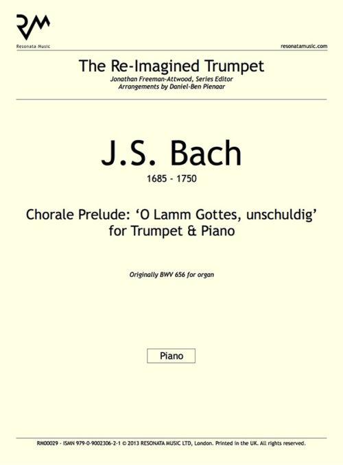 Bach - O lamm inner cover