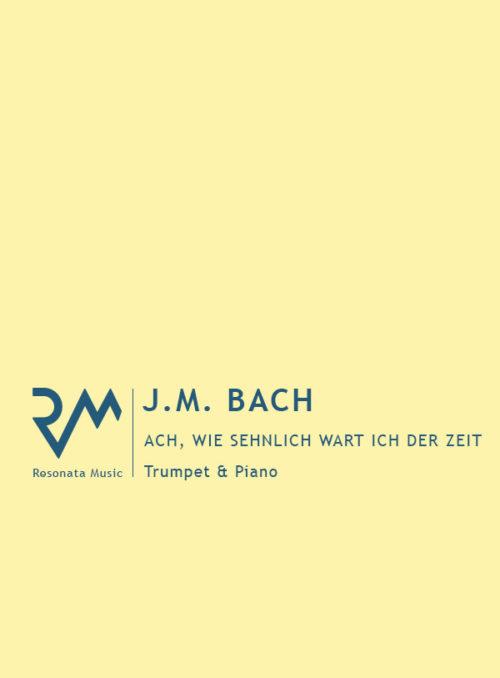 JM Bach - Ach wie sehnlich cover