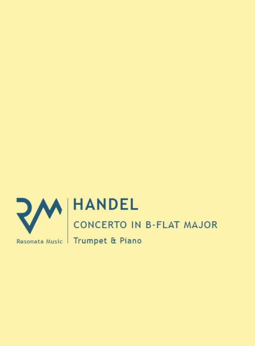 Handel - Concerto in b-flat cover