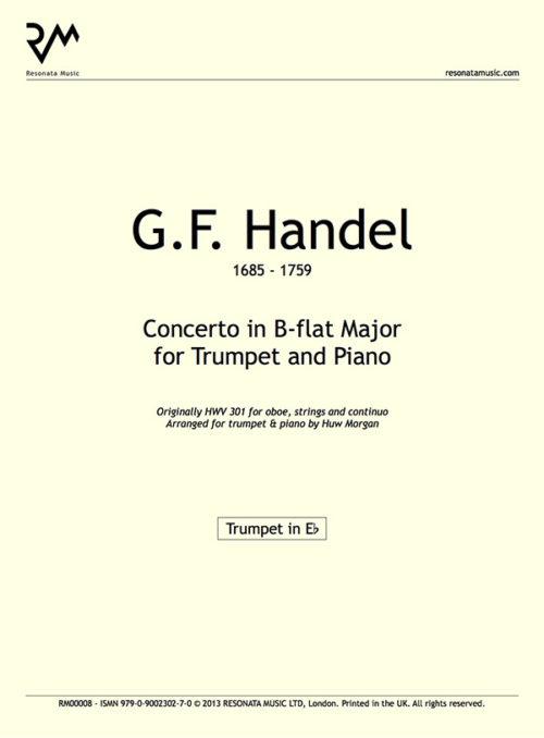 Handel - Concerto in b-flat inner cover