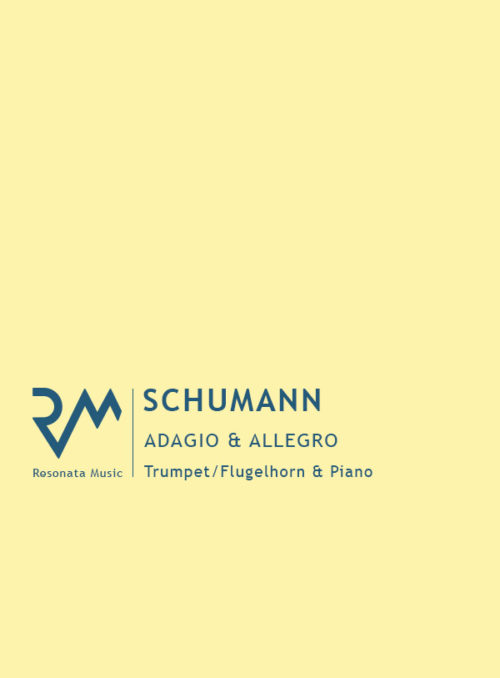 Schumann - Adagio and Allegro cover