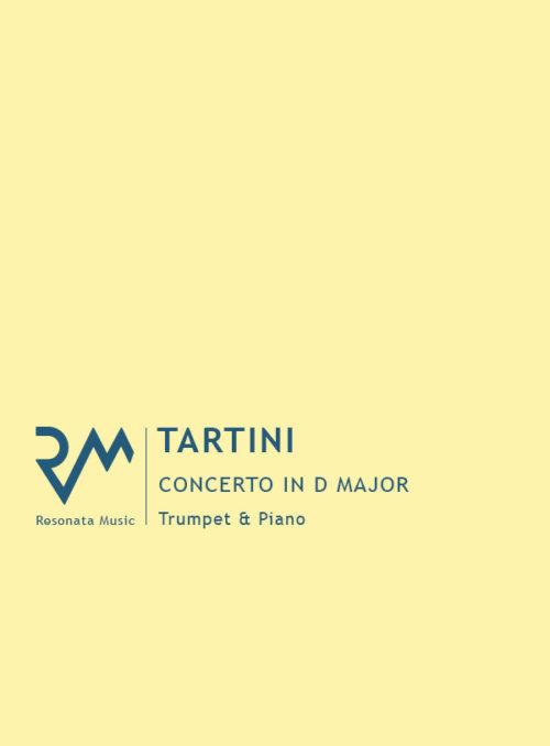 Tartini - Concerto in D cover