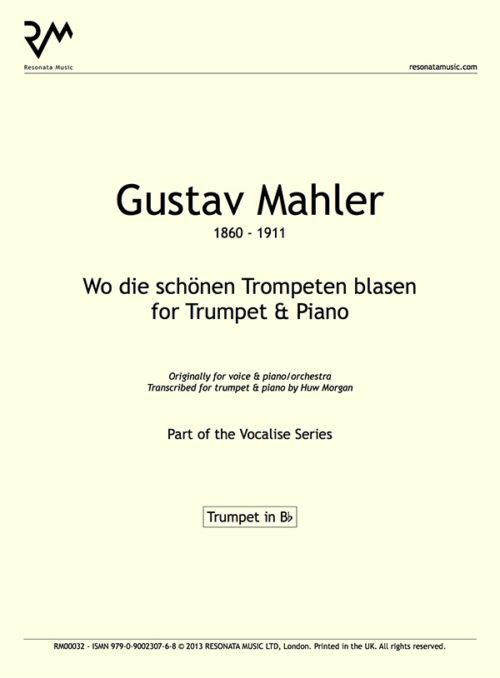 Mahler - wo die schonen inner cover