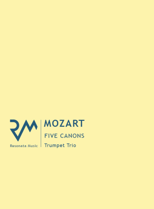 Mozart - Five Canons Cover