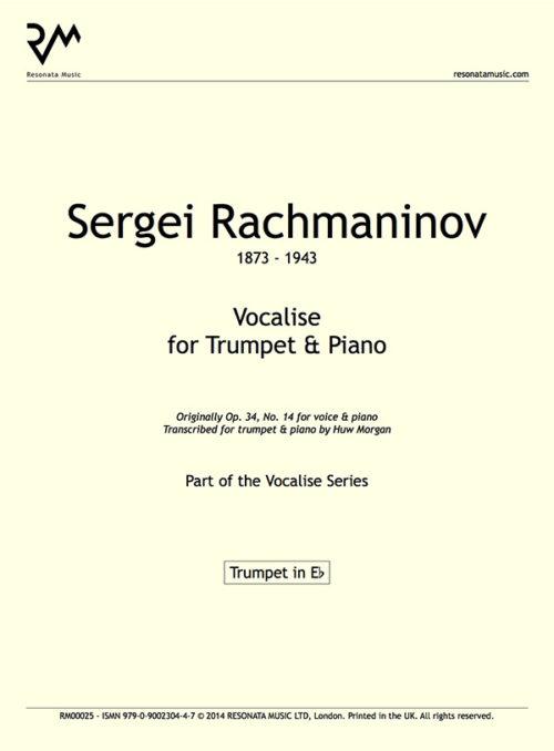 Rachmaninov - Vocalise innercover