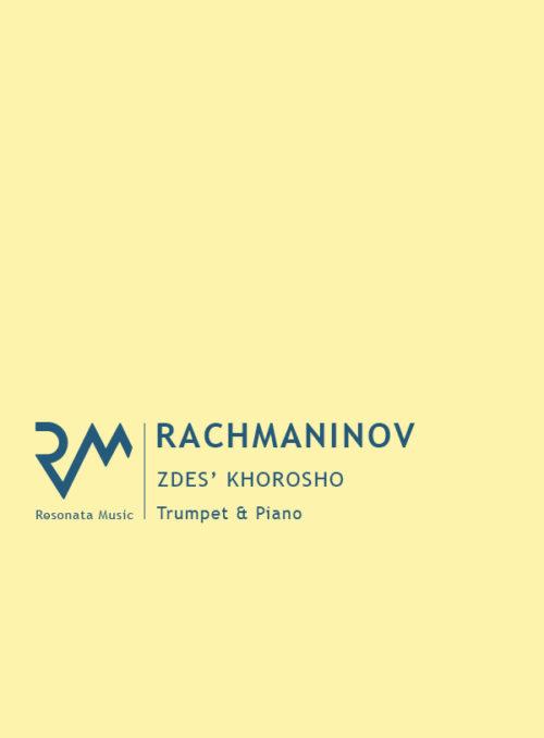 Rachmaninov - Zdes Khorosho cover
