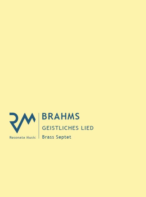 Brahms - Geistliches cover