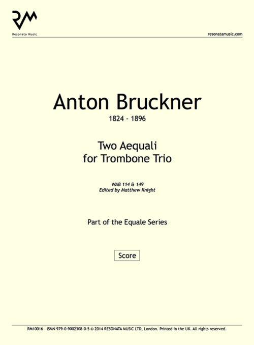 Bruckner - Aequali inner cover