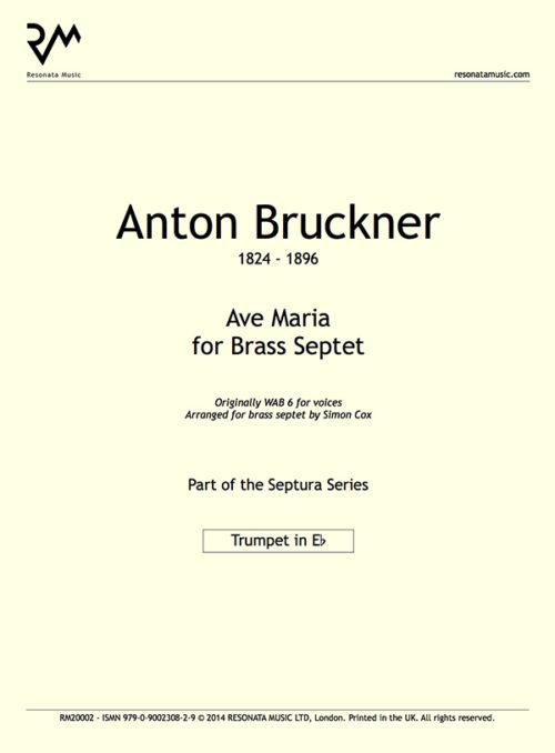 Bruckner - Ave Maria inner cover