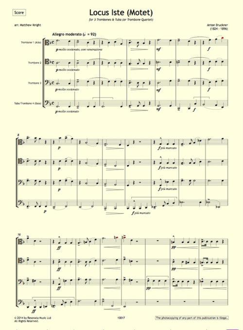 Bruckner - Locus Iste first