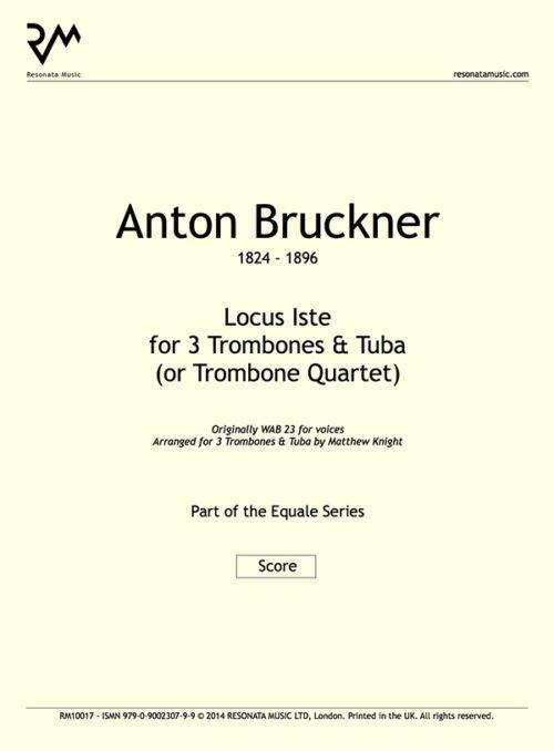 Bruckner Locus Iste inner cover
