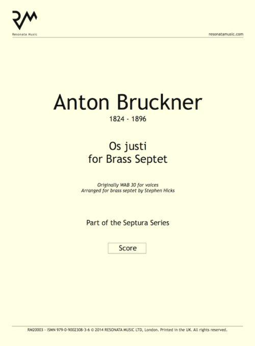Bruckner - Os justi inner cover