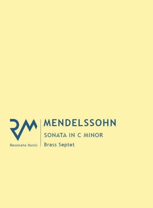 Mendelssohn - Sonata cover