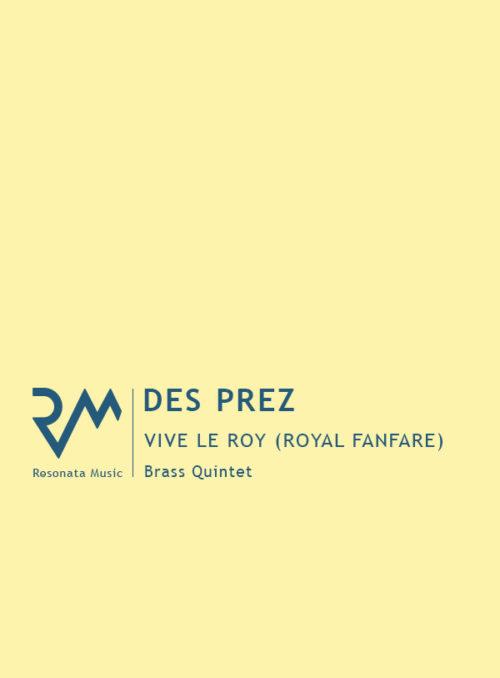 Des Prez - Fanfare cover