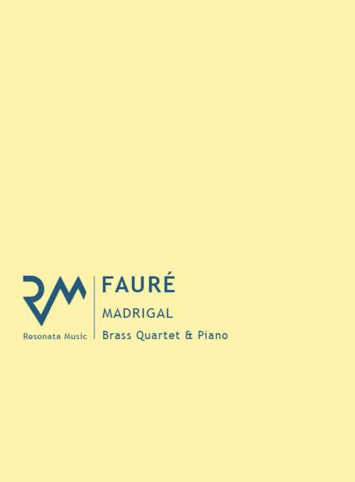 Faure - Madrigal cover
