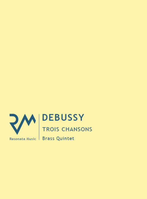 Debussy - Trois Chansons cover