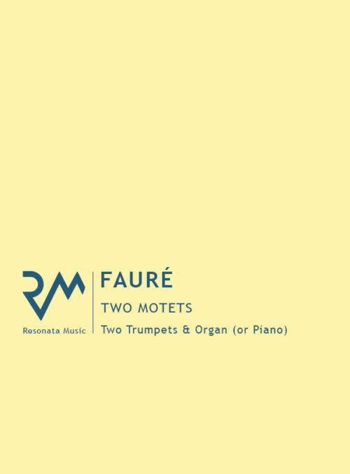Faure - Two Motets cover