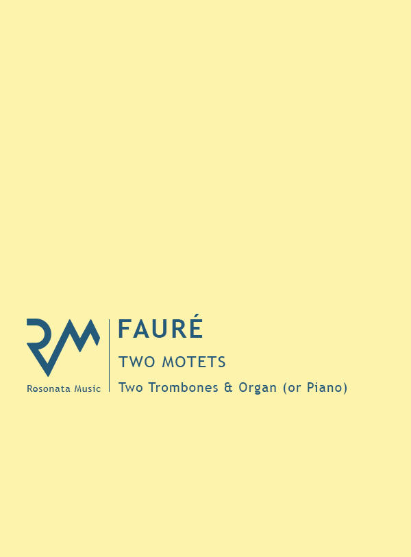 Faure - Two Motets troms cover