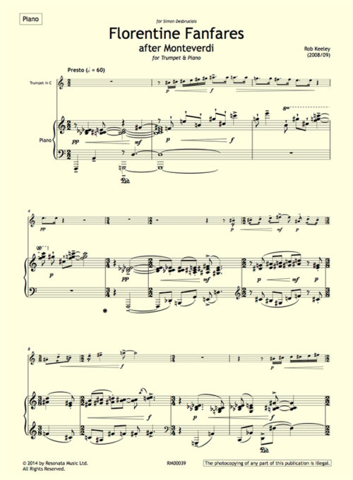 Keeley - Florentine Fanfares first page copy