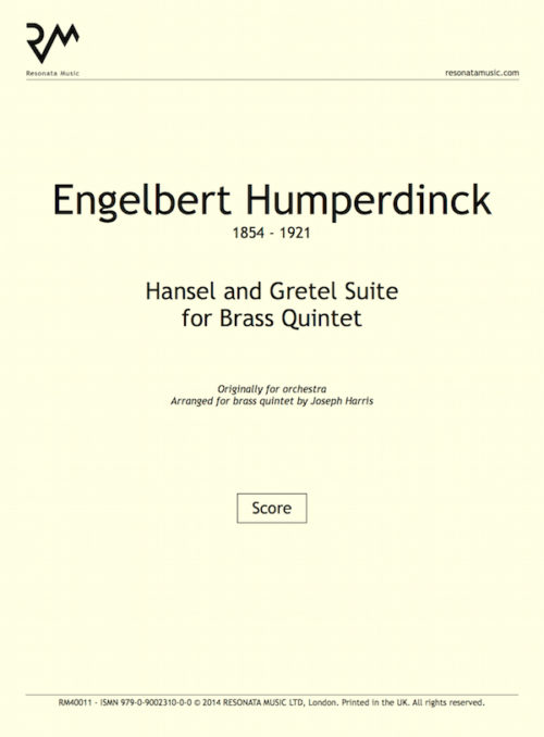 Humperdinck - Hansel and Gretel Inner cover
