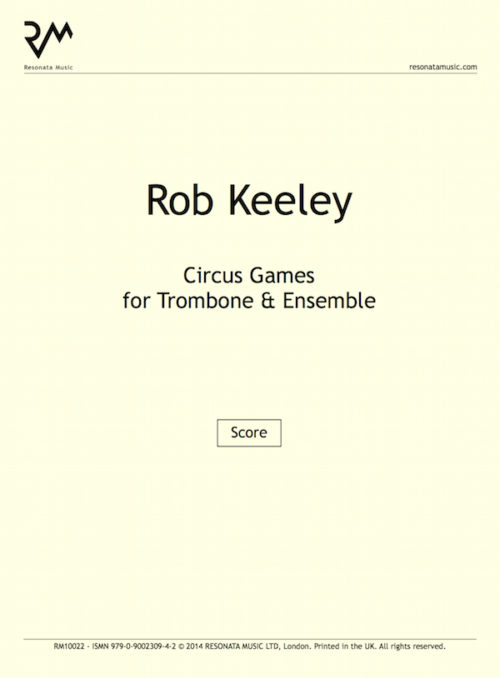 Keeley - Circus Games inner cover