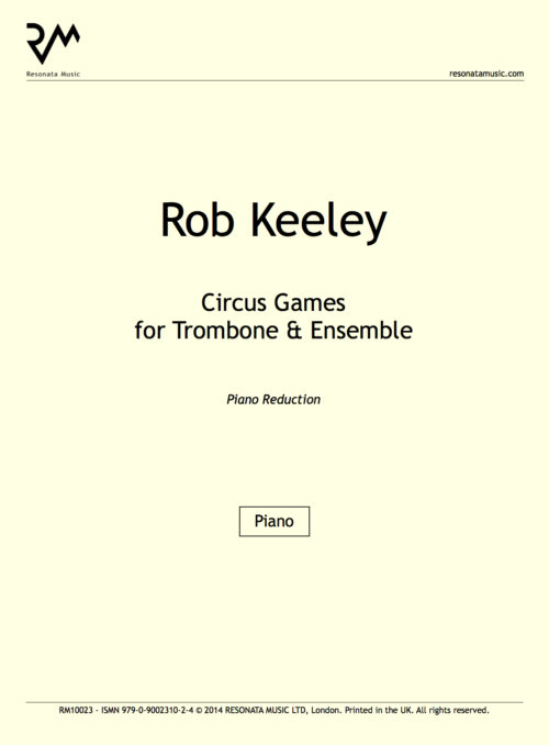 Keeley - Circus Games inner cover (piano reduction)