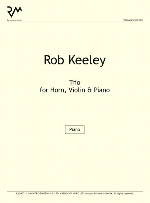 Keeley- Trio inner cover