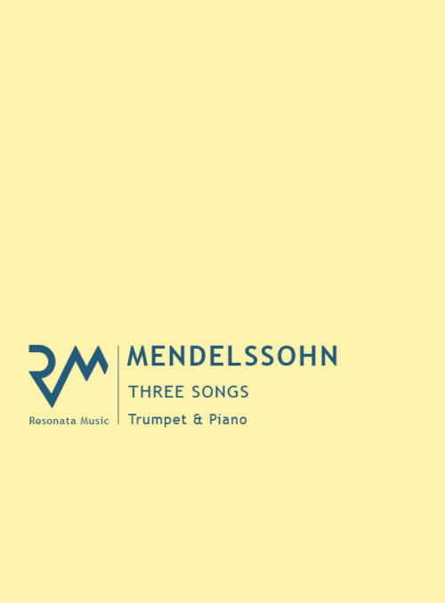 Mendelssohn - 3 Songs Cover