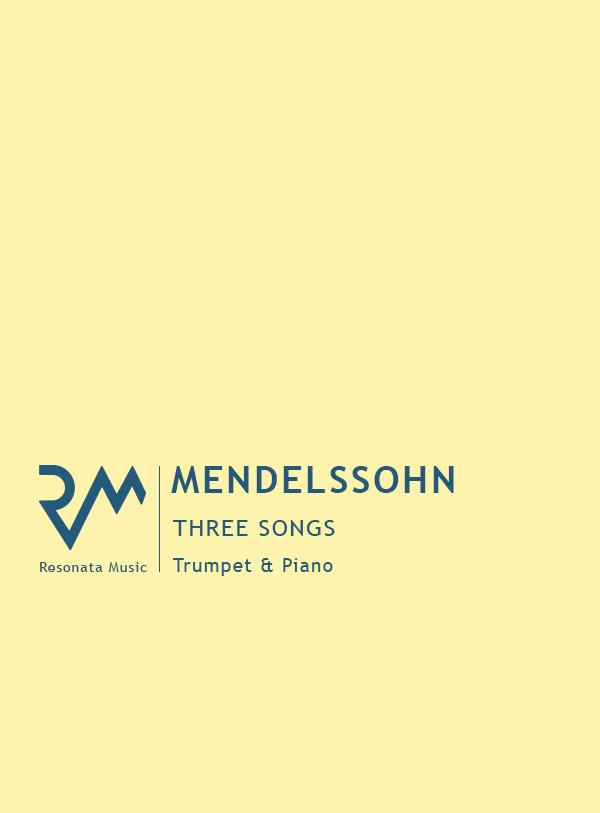 Mendelssohn - 3 Songs Cover