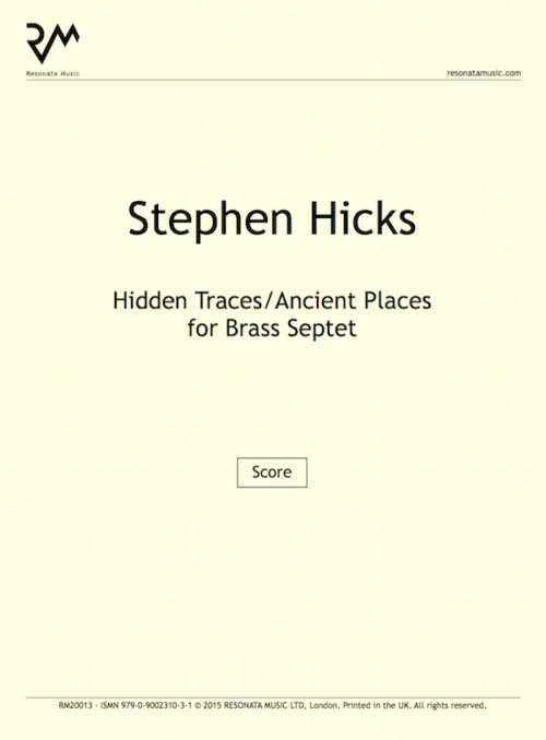 Hicks - Hidden Traces septet inner cover