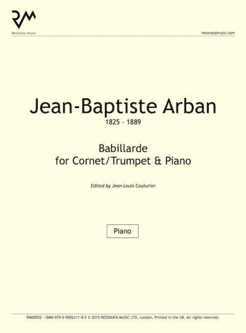 Arban - Babillarde inner cover