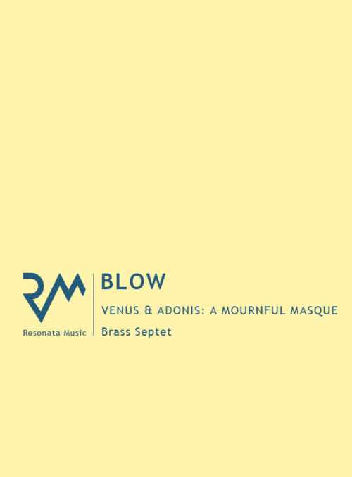 Blow - Venus and Adonis cover