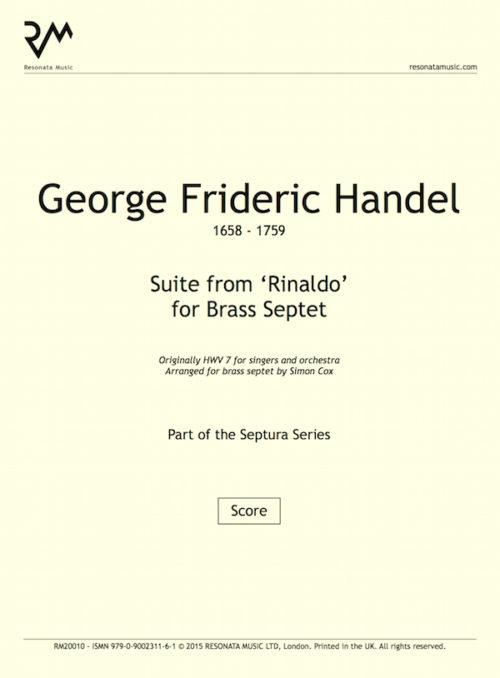 Handel - Rinaldo inner cover