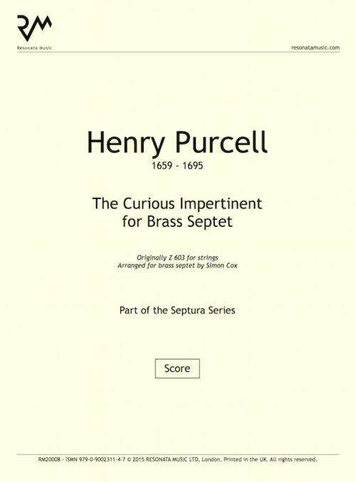 Purcell - Curious Impertinent inner cover